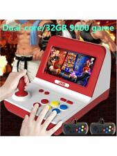 New Classic Nostalgia Big Rocker Retro Mini Arcade Console Dual-core White