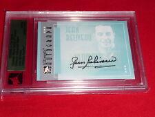 05-06 ITG Ultimate Memorabilia Jean Beliveau Auto Silver 49/50 Autograph L@@K
