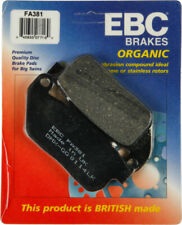 EBC Organic OE Quality Replacement Brake Pads / One Pair (FA381)