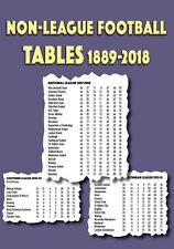 Non-League Football Tables 1889-2018 - Pyramid Steps 3 and 4 - Statistics book