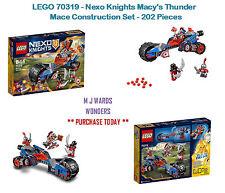 LEGO 70319 - Nexo Knights Macy's Thunder Mace Construction Set - 202 Pieces