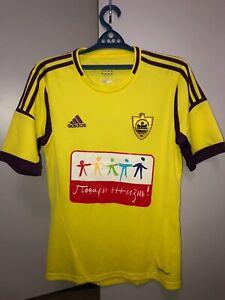Match worn shirt Anzhi Makhachkala Russia jersey size S, Samuel Eto'o