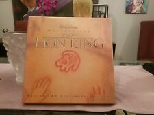 The LION KING a Walt Disney Masterpiece Deluxe CAV Letterbox Edition 4 DISCS