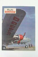 Vintage Douglas Airview Magazine Volume XIV February-March 1947 No. 2