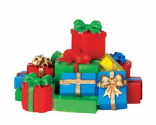 Lemax Decoration Stack of Presents, New Christmas Cake Decorating Parcels Gifts