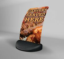 Carvery Served Here Eco Flex 2 Pavement A Board Sign ***PRINTED & DELIVERED***