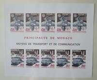 MONACO 1988 CEPT BLOC NON DENTELE NEUF** TB Maury 1659A €450 1b/Cq178