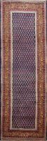 3x9 Vintage Paisley Traditional Runner Rug Hand-knotted Oriental Hallway Carpet