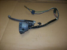 Honda cb250 rs control light switch clutch lever bracket clamp switch barn find