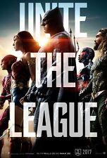 Justice League - original DS movie poster - 27x40 D/S Advance