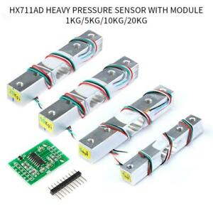 Load Cell 1/5/10/20kg Digital Weight Sensor HX711 AD Converter Breakout Module