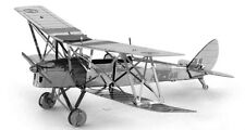 De Havilland Tiger Moth: Metal Earth 3D Laser Cut Miniature Model Kit