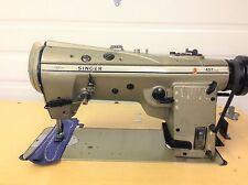 Singer 457U105 High Speed Zig Zag w/Reverse 110V Industrial Sewing Machine