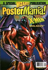 Wizard Comics Wizard Poster Mania (1996) #1997 X-Mens Onslaught Comic Book
