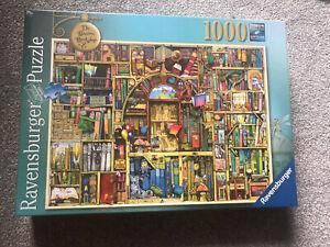 Ravensburger 1000 Piece Jigsaw SEALED Colin Thompson Bizarre Bookshop 2