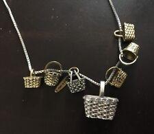 Longaberger Rare Basket Collection 22� Necklace L@K