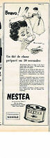 PUBLICITE ADVERTISING   1954   NESTEA    de NESTLE