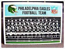 1966 PHILADELPHIA #131 EAGLES TEAM VG NO CREASES