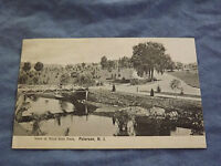 VINTAGE 1907 WEST SIDE PARK PATERSON    NEW JERSEY  POSTCARD