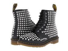 Dr. Martens Women's 1460 Spike All Stud Boot Black US 6 EU 37 UK 4 Ret. $350!!!