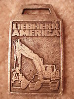 Liebherr America Excavator Watch Fob LAM-2