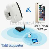 Wifi Señal Repetidor Inalámbrico 300Mbps 802.11B/G/N AP Red Router Amplificador