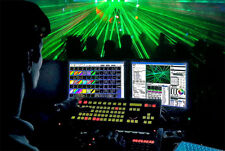 Pangolin Live Pro, Lasershow Software für den Live Betrieb von Showlasern