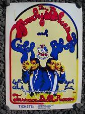 1970 MOODY BLUES & COLD BLOOD Poster + 1996 Handbill & '94 Higher & Higher Zine