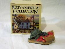 Schmid R.F.D Collection by Lowell Davis #255021 Strawberry Patch 1979 orig box