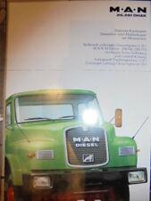 Prospekt Sales Brochure MAN M.A.N 26.281 DHAK Dreiachs Kurzhauber LKW Truck
