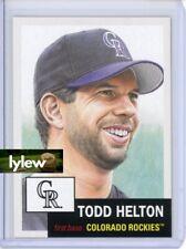 2019 Topps Living Set * TODD HELTON * Card #275 * Colorado Rockies
