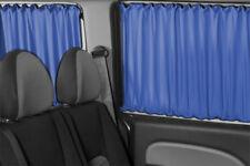 VW T5 & T6 Transporter Caravelle NUR für 3 Fenster BUS GARDINEN VORHÄNGE BLAU