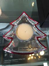 Mercedes-Benz Bougeoir Photophore Arbre de noël / sapin 24% Cristal de plomb