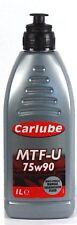 CARLUBE MTF-U 75W90 MULTI-VEHICLE MANUAL TRANSMISSION FLUID -1L