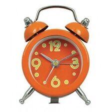 Mini Double Bell diamètre 5 cm réveil en orange vif (notre réf ZC)