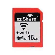 Wi-Fi Wireless SDHC 16GB Class 10 SD Memory Card for eye fi transcend ez Share