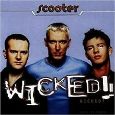 "SCOOTER ""WICKED!"" CD 11 TRACKS DISCO/DANCE NEUWARE"