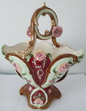 Vaas bloemen mand ceramice