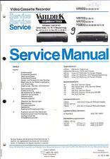 PHILIPS Original Service Manual per VR 502/702/703 7sb02