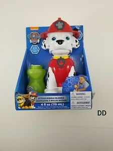Paw Patrol Marshall Action Bubble Blower Nickelodeon