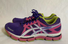 ASICS GEL-NEO 33 T272N PURPLE/PINK/WHITE/GREEN ATHLETIC RUNNING SHOES SIZE 10