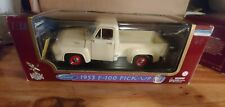ROAD LEGENDS 1953 F-100 FORD PICK-UP 1:18 SCALE DIE CAST CREAM COLOR NIB