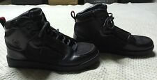 Men's Black Cadillac High Top Shoes - Size US 9- FREE SHIPPING