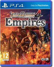 SAMURAI WARRIORS 4 EMPIRES - SONY PS4 - NUOVO SIGILLATO