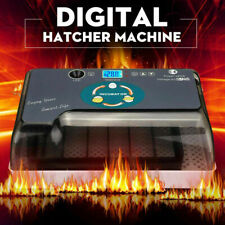 Digital 12 Egg Incubator Automatic Temperature Control Turning Chicken Hatcher