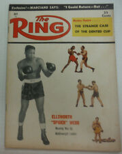 The Ring Boxing Magazine Ellsworth Spider Webb Marciano May 1957 043015R
