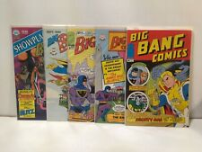 Big Bang Comics #1 2 3 4 Showplace 9 Image Lot 1987 VF/NM
