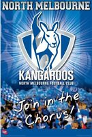 AFL - North Melbourne Kangaroos Logo POSTER 61x91cm NEW * Aussie Rules Team