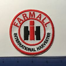 FARMALL INTERNATIONAL HARVESTER EMBROIDERED EMBLEM IRON-ON SEW-ON PATCH