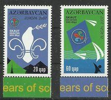 CEPT 2007-Boy Scout/Azerbaigian MiNr 679/80 a **